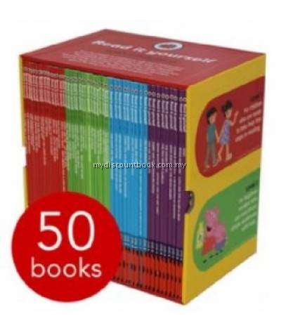 Ladybird Read It Yourself Box Set Collection