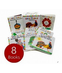 Eric Carle 8 Board Books Collection