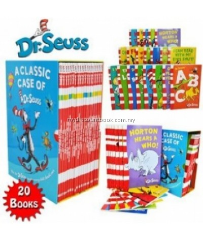 The Classic Case of Dr Seuss - 20 Books in Slipcase