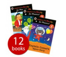 Ladybird I'm Ready for Phonics Collection - 12 Books