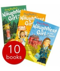 Enid Blyton Naughtiest Girl Collection - 10 Books