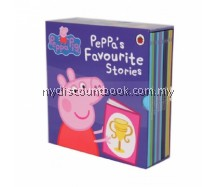 Peppa Pig's Favourite Stories - 10 Books hardback Slipcase