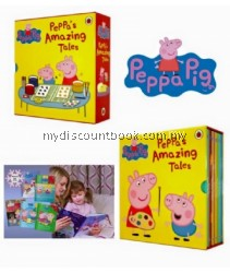 Peppa Amazing Tales - 10 Books Set