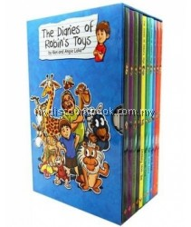 The Diaries of Robin's Toys - 10 Books Collection