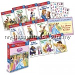 Disney Learning- Reading Adventures - Disney Princess Level 1 - 10 Books Set