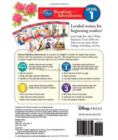 Disney Learning- Reading Adventures - Disney Princess Level 1 - 10 Books Set
